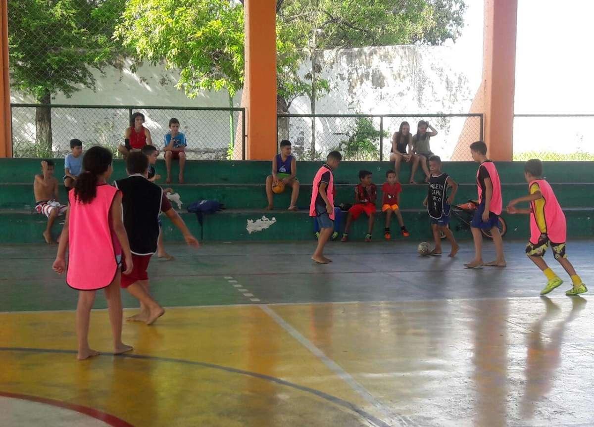 134b6307351ac Vila do Esporte e Lazer de Messejana inicia aulas da escolinha de ...