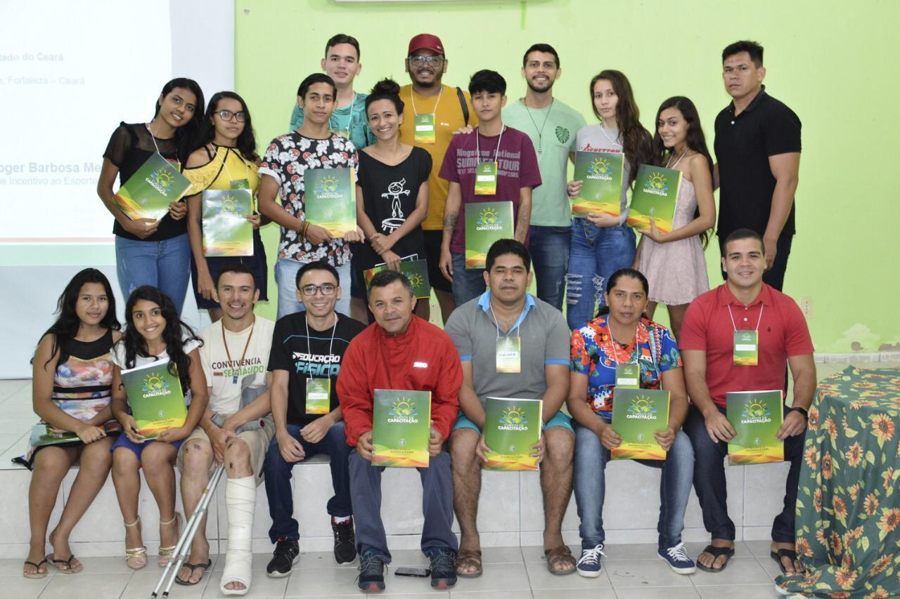 Curso de Capacitação em Elaboração de Projeto e Captação de Recursos é ministrado no município de Irauçuba