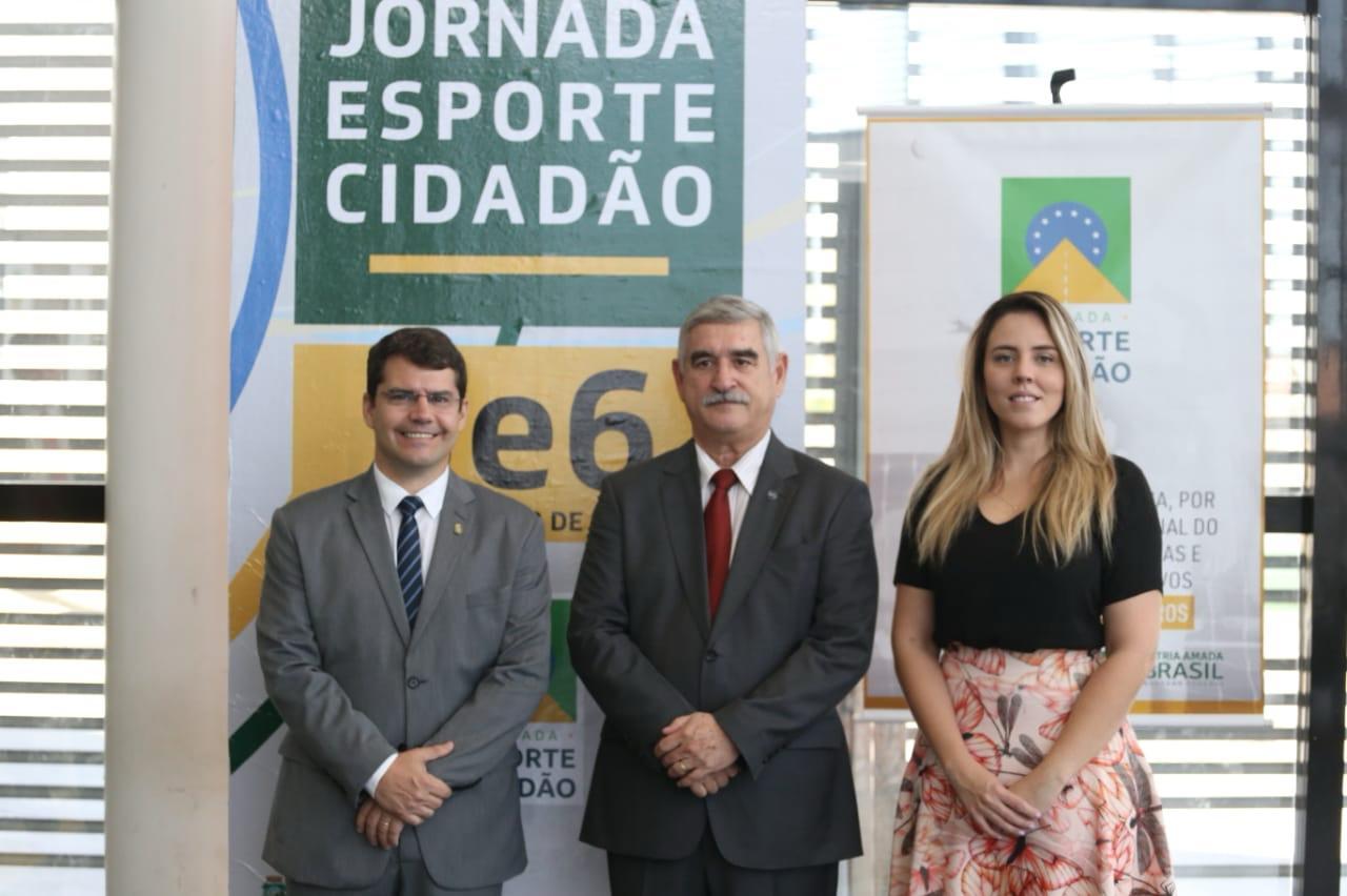 Sejuv recebe primeira edição da Jornada Esporte Cidadão