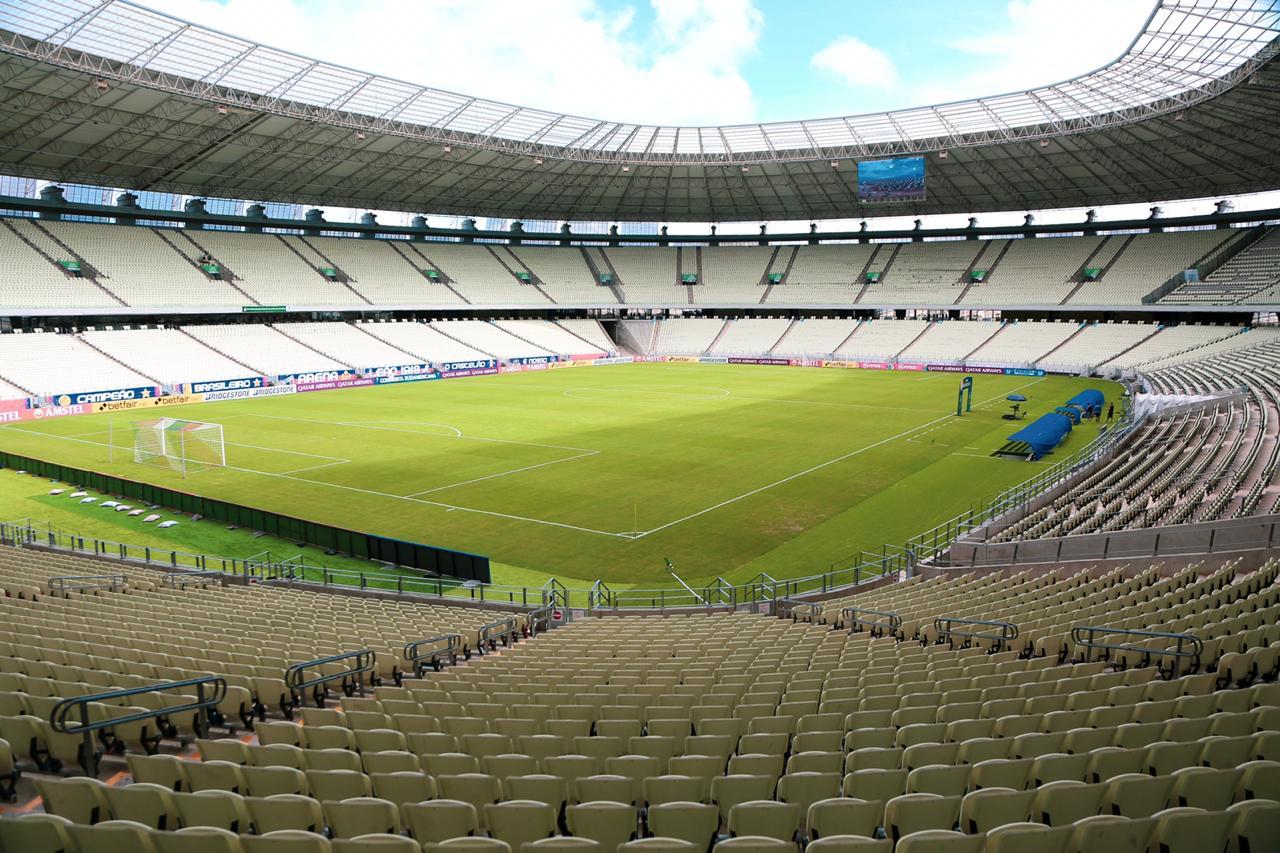 Arena Castelão atenderá calendário da CBF