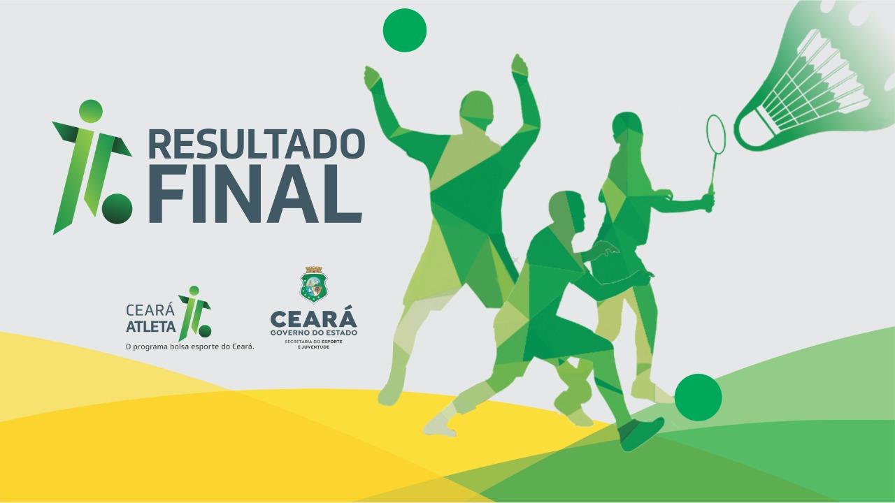Sejuv divulga resultado final da concessão da Bolsa Esporte do Programa Ceará Atleta